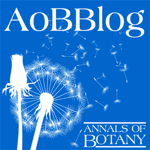AoBBlog logo showing dandelion seeds being dispersed