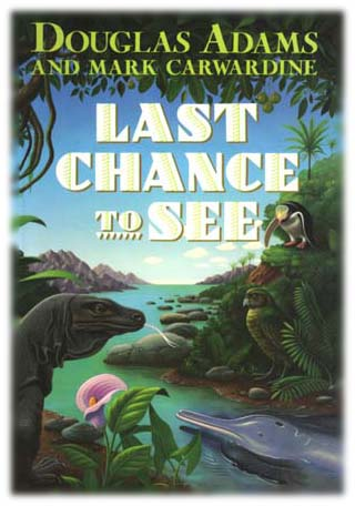 Last Chance to See cover