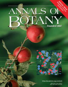 Polyploidy Special Issue Cover