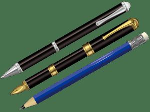 writingutensils,鉛筆,ボールペン,万年筆