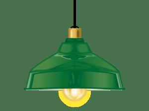 レトロ風ランプ