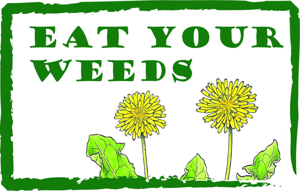 Eat your weeds logo