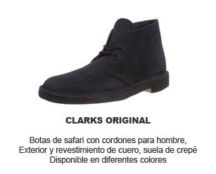 botas hombre safari Clarks Original