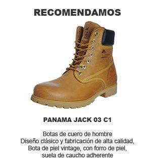 Panama Jack 03 C1 - Náuticos de cuero hombre