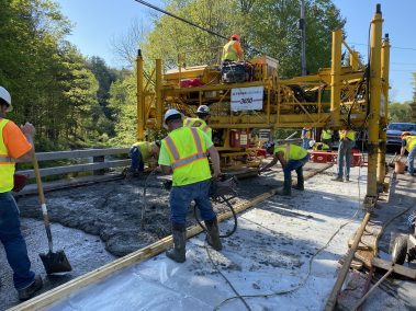 BC Bridge Pour 2 scaled - CA112556 - Middle Stella Ireland Rd. Bridge Wearing Surface Replacement