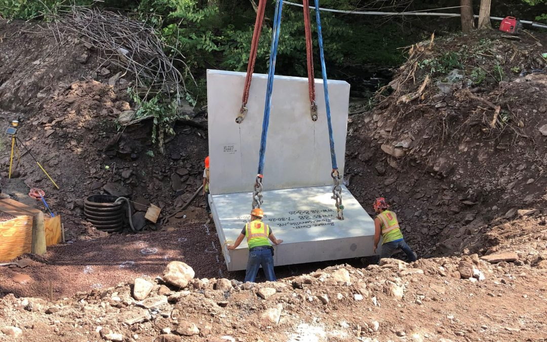 D262989 – Replacement of 5 Existing Culverts with New Precast Concrete Box Culverts