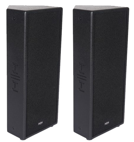 HH ELECTRONICS TMP-208A ACTIVE SPEAKER PAIR