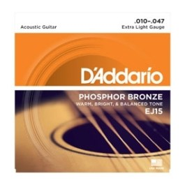 D'Addario EJ15 Phospor Bronze Acoustic Guitar Strings