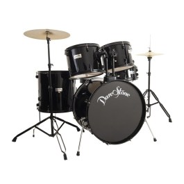 DARESTONE 5 PIECE ROCK SIZE DRUMKIT BLACK