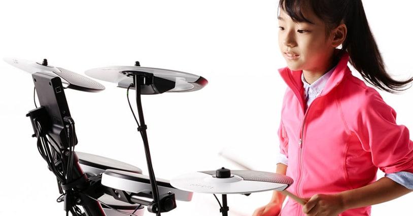 Electronic drum kit for beginner