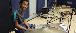 Be a church musician, not the church drummer