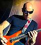 Dan Patlansky on tour with Joe Satriani