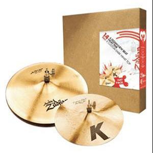 Zildjian 14″ 3HAT PACK BEATER PAIR + K CUSTOM