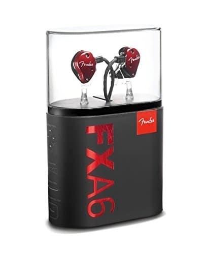 Fender FXA6 PRO IN-EAR MONITORS RED