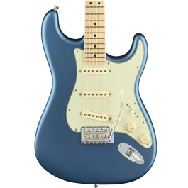 Fender AMERICAN PERFORMER STRATOCASTER® Maple Neck Satin Lake Placid Blue with case