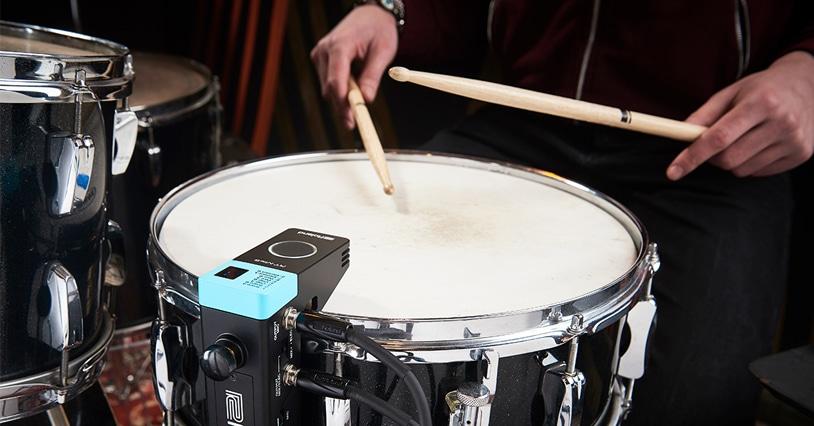Roland RT-MicS: Hybrid Drumming Simplified