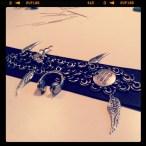 Angels & Airwaves inspired bracelet