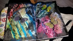 art journal workshop #3 - grow wings & fly