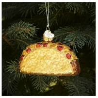 Taco Ornament by Old World Christmas CA$12.95 from OuterLayer.com (Queen West and Portland)