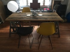 Trestle table alternative angle