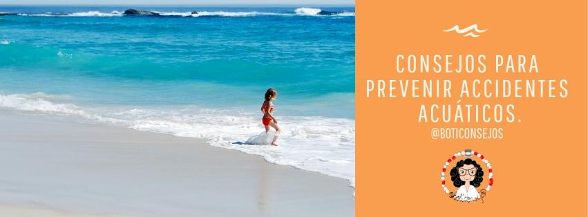 consejos para prevenir accidentes acuáticos