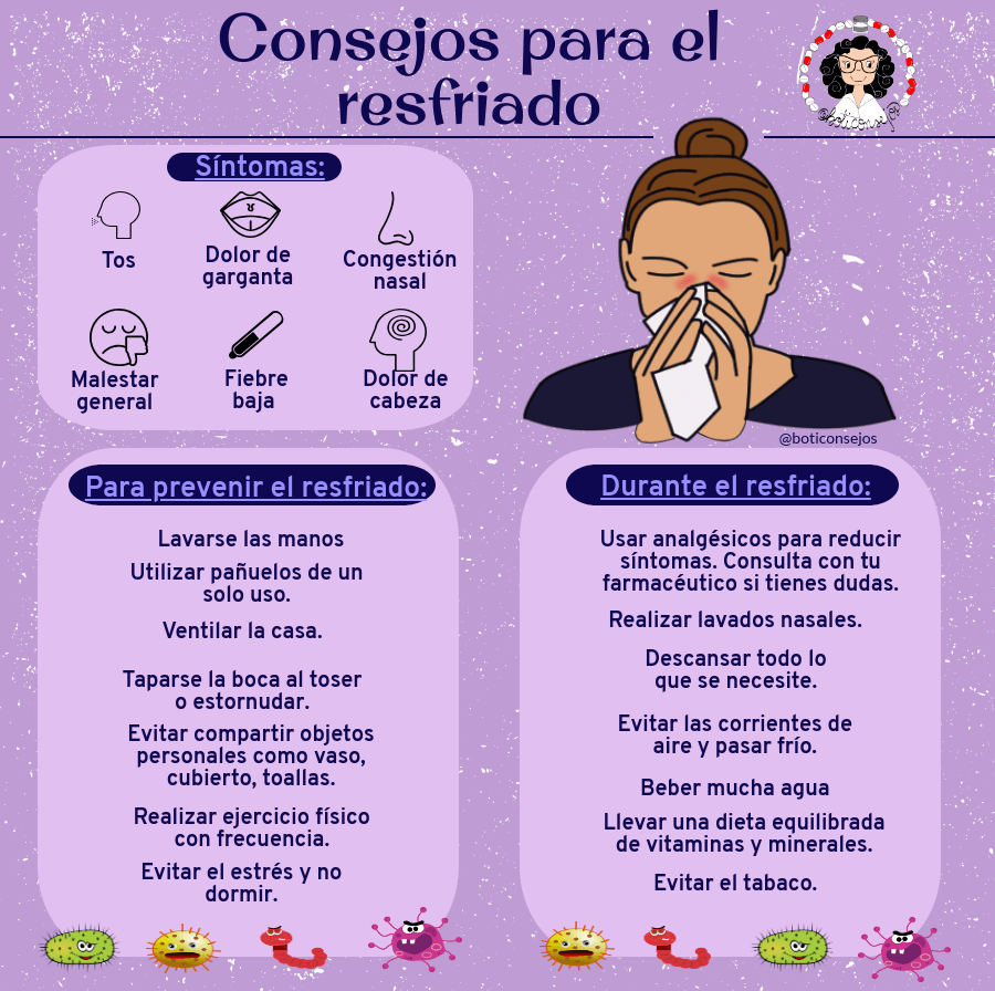 Consejos para el resfriado