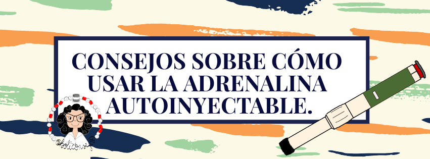 Consejos adrenalina autoinyectable