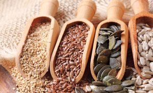 Las semillas son muy beneficiosas para la salud.