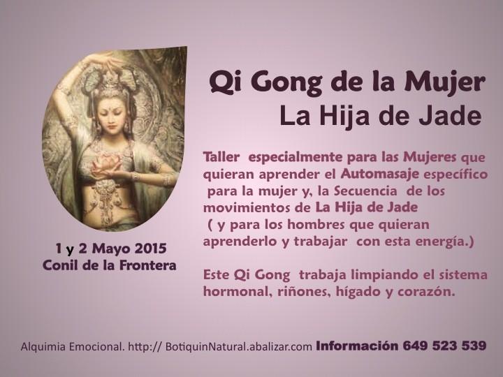 1 y 2 Mayo 2015 - Qi Gong de la Mujer, La Hija de Jade - Conil de la Frontera