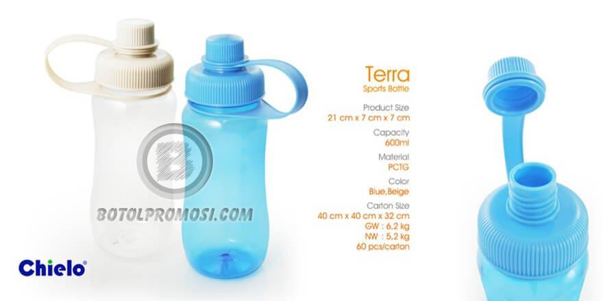 Botol Olah Raga TERRA Chielo untuk Promosi