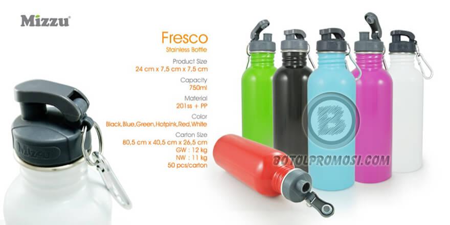 Botol Stainless FRESCO Mizzu untuk Promosi