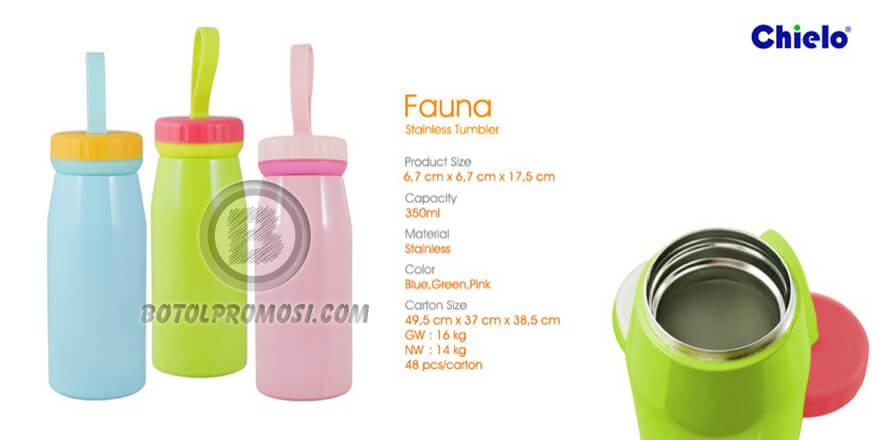 Tumbler Vacuum FAUNA Mizzu untuk promosi Bali
