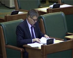 Gheorghe Marcu în Senatul României