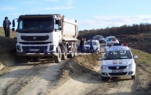 Camioane Tehnic Asist blocate de Ioan Gheorghinciuc