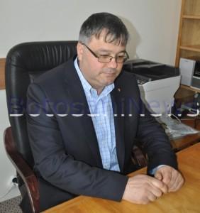 Paval Ioan Paul- vicepresedinte CJ Botosani in birou