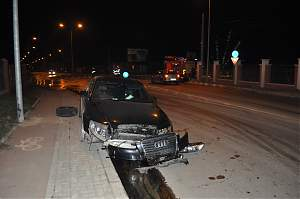 accident giratoriu Lebăda