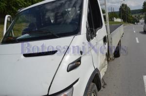 autoutilitara avariata accident lebada botosani1
