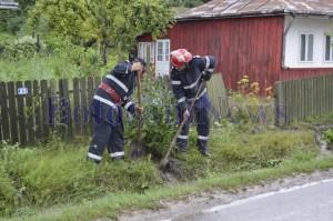 pompieri inundatii hanesti botosani