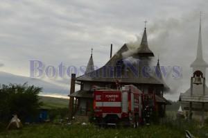 incendiu manastire lebada botosani