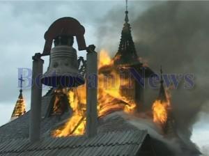 incendiu manastire lebada