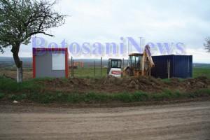 excavator tractor lucrare consolidare zaicesti botosani