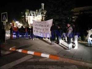 protest tineri club bucuresti