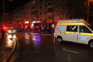 ambulanta politie accident noaptea