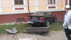 accident masina zid djdp
