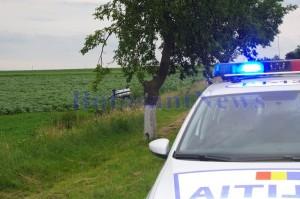 Accident Vaculesti politie masina rasturnata_18