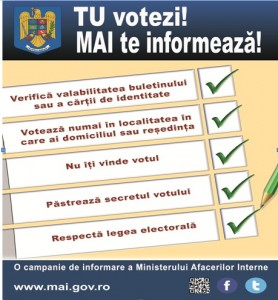 campanie politie alegeri