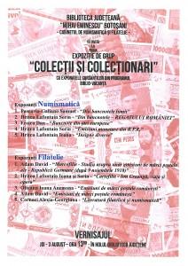 Expozitie de grup Colectii si Colectionari