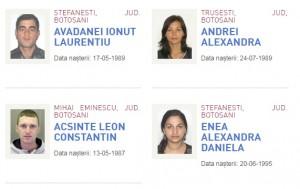 persoane date in urmarire la Botosani - Politia Romana