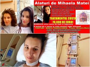 mihaela matei cancer apel umanitar
