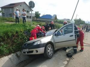 stiri, botosani, stiri din botosani, accident, masina in sant (2)